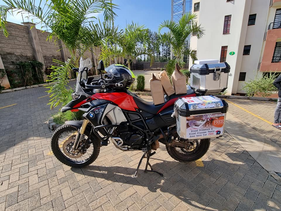 Ride for a cause – diabetes awareness.